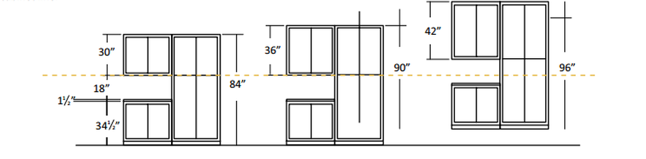 Kitchen Wall Cabinets Height