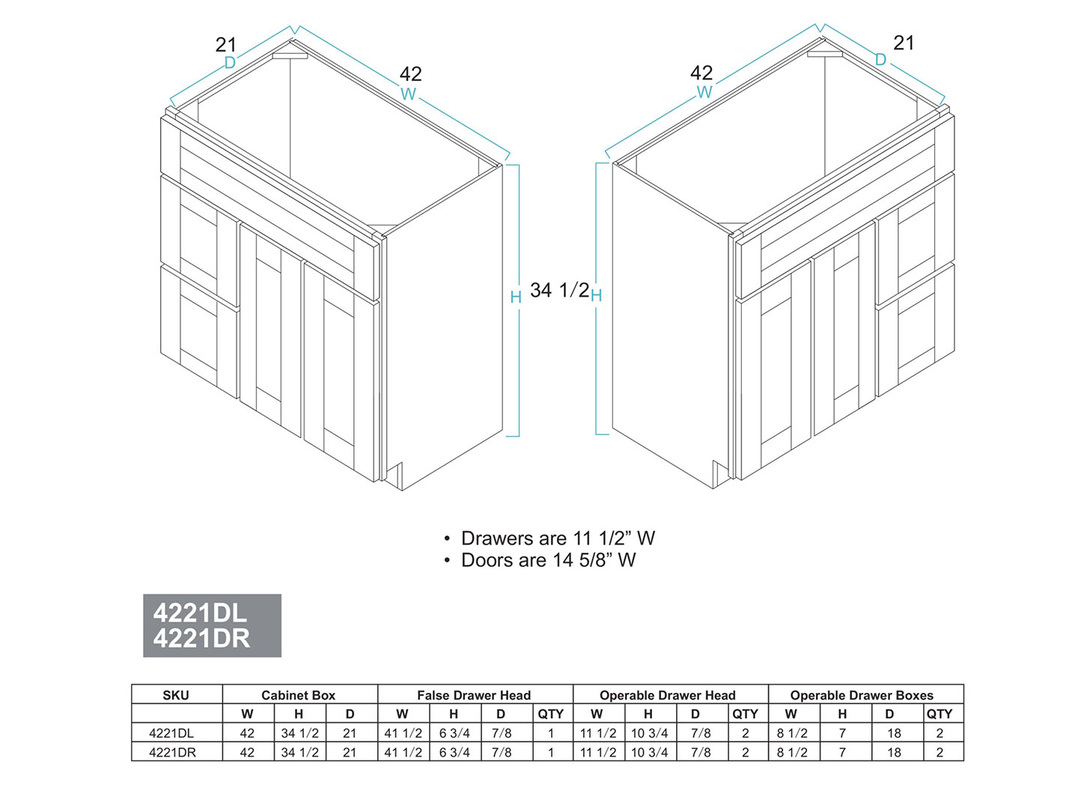 Cabinet specifications kitchen prefab cabinets rta for Assembled kitchen cabinets online