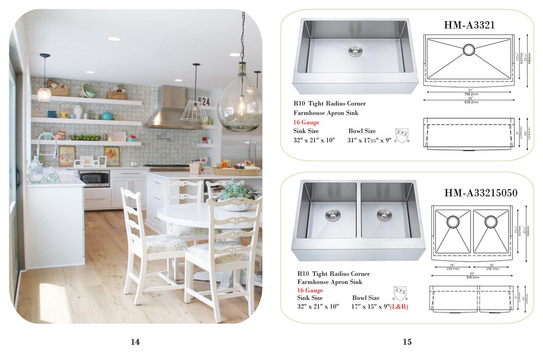 Stainless Steel Sink Kitchen Prefab Cabinets Rta Kitchen