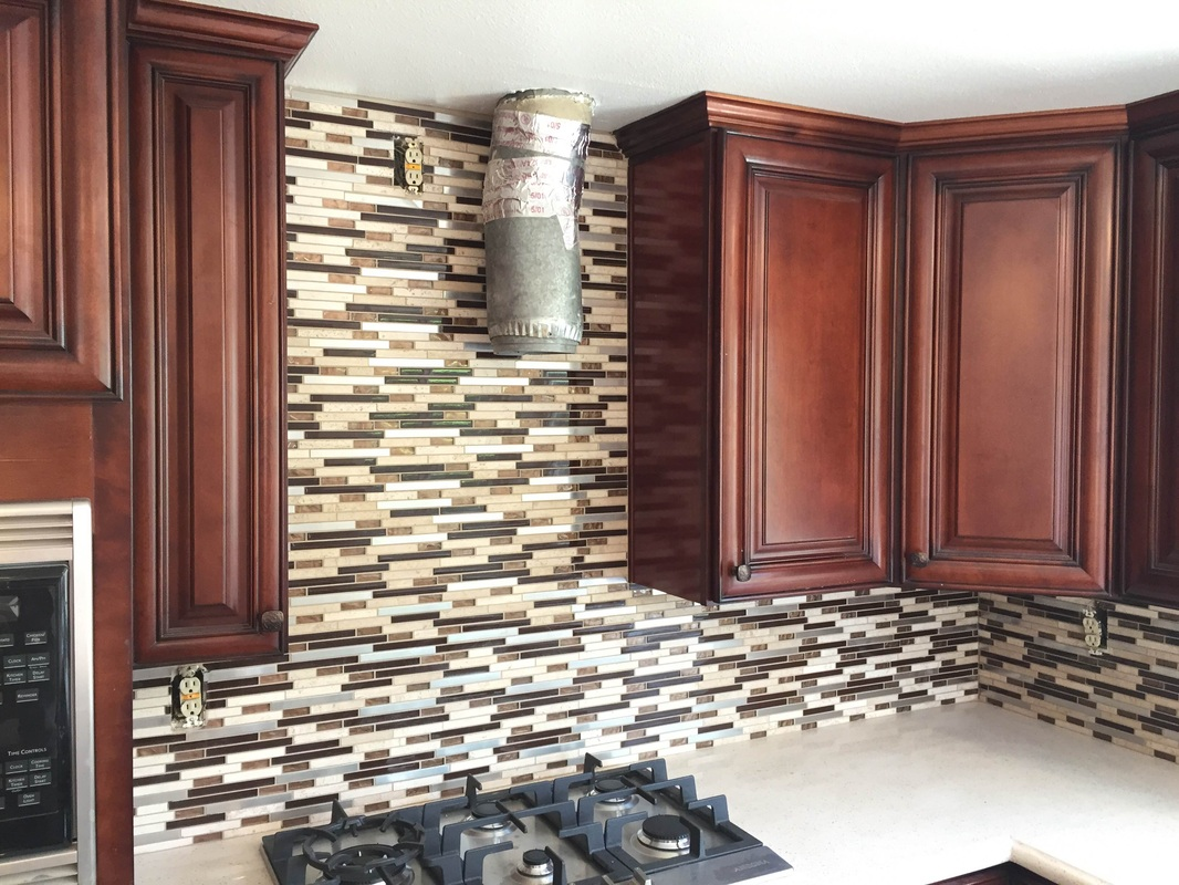 Dark Cherry Glaze Kitchen Cabinets With Quartz Countertop   Cerritos,CA    Kitchen Prefab Cabinets,RTA Kitchen Cabinets, Ready To Assemble Cabinet,Kitchen  ...
