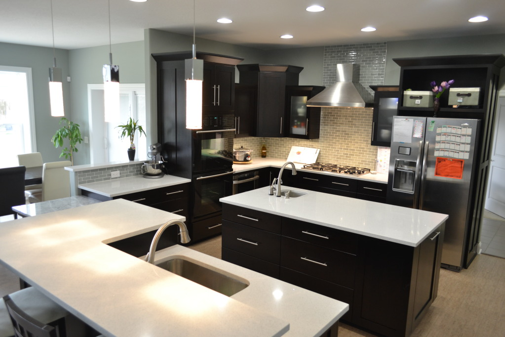 Picture. Kitchen Quartz Countertop