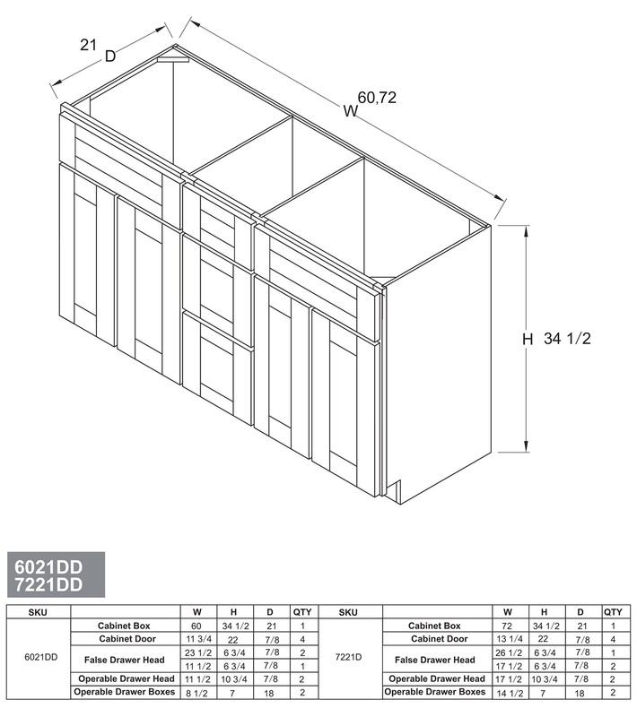 Kitchen Premade Cabinets