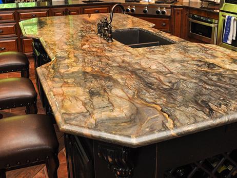 Picture. Granite Slab Work