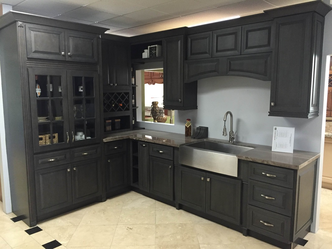 Kitchen cabinets full extension drawers - Picture