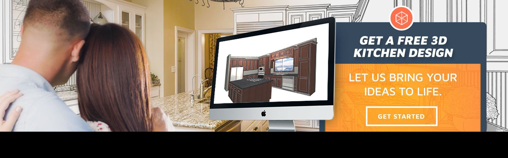 Free 3D Design - Kitchen Prefab cabinets,RTA kitchen ...